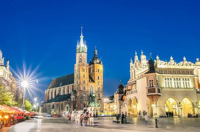 Krakow Old Town get togeher